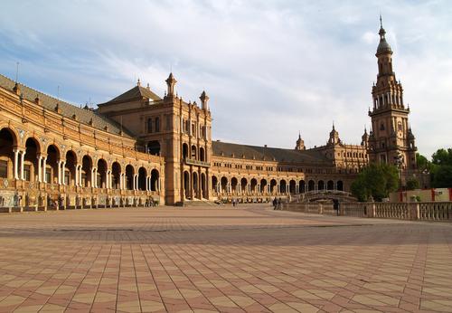 Plaza de Espana Seville images